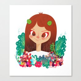 Something Floral Canvas Print