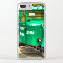 Mechanical Horse Clear iPhone Case