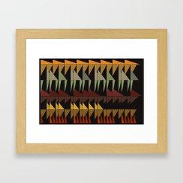 Dibon - Earth Tones Framed Art Print