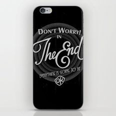 dont worry iPhone & iPod Skin