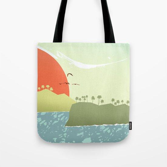 Tropical amor Tote Bag