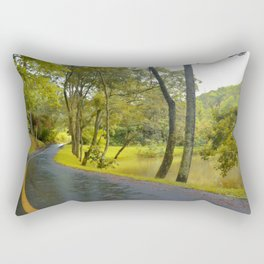 On The Road - Photography 001 Rectangular Pillow
