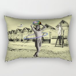 Who'll Play With Me? Rectangular Pillow