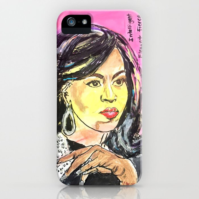 I am Woman: Michelle Obama iPhone Case