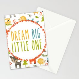 Dream Big Little One - Woodland Stationery Cards