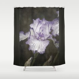 Waves of Purple Shower Curtain