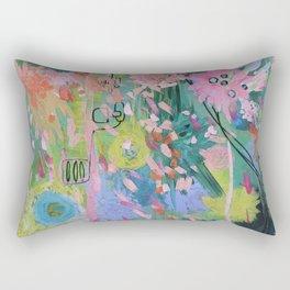 Bedlam on a Friday Rectangular Pillow