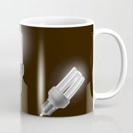 Energy saving bulbs with cords Coffee Mug