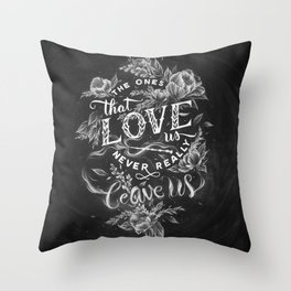 Harry Potter - The Ones That Love Us Throw Pillow