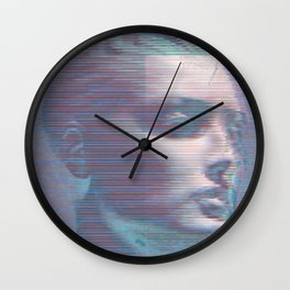 Glitch Boy Wall Clock