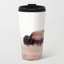 Buffalo Metal Travel Mug