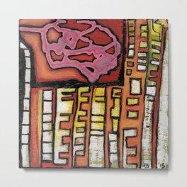 Urban abstract Metal Print