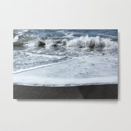 Crash Metal Print