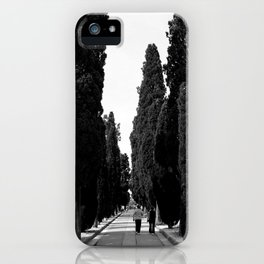 Cemetery #2 iPhone Case