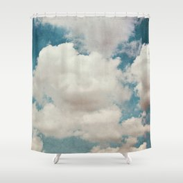 January Clouds Shower Curtain