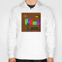 30 rock Hoodies featuring cool sketch 30 by Cool-Sketch-Len