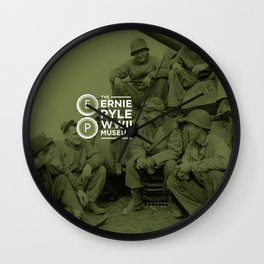 The Ernie Pyle WWII Muesum Wall Clock