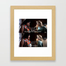 Grades Framed Art Print
