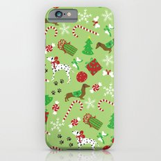 Christmas Pups iPhone 6s Slim Case