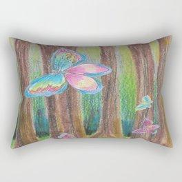 Butterfly Forest II Rectangular Pillow