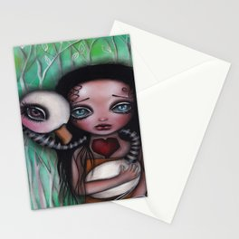 Never Alone Stationery Cards