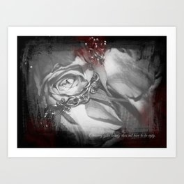 Cutting Edge Erotica, I Art Print