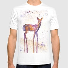 Rising Fawn Mens Fitted Tee White MEDIUM