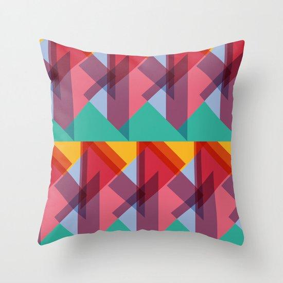 Crazy Abstract Stuff 3 Throw Pillow