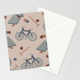 Summer Sports Stationery Cards