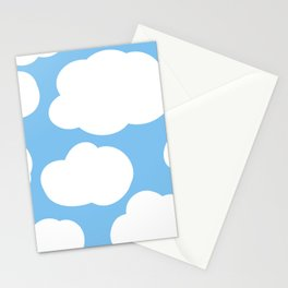 cute clouds  Stationery Cards