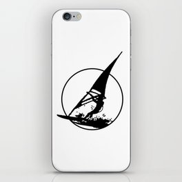 Windsurfing Logo iPhone Skin