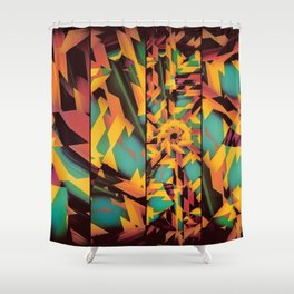 Delayed Impact Shower Curtain
