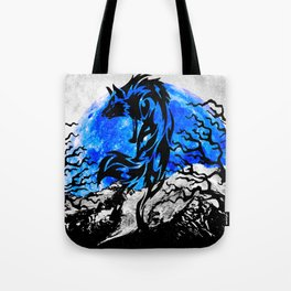 WOLF OF THE NIGHT Tote Bag