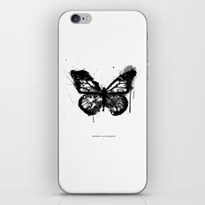 Black Monarch iPhone & iPod Skin