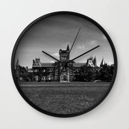 University College Main Building Toronto Canada Wall Clock