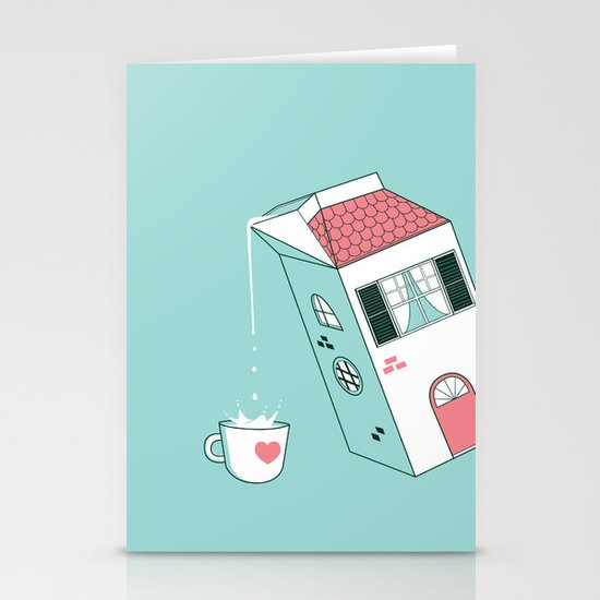 Housepour Stationery Cards