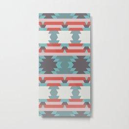 American Native Pattern No. 65 Metal Print