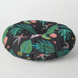 Jungle Parrot Floor Pillow