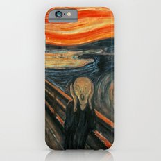 The Scream by Edvard Munch iPhone 6 Slim Case