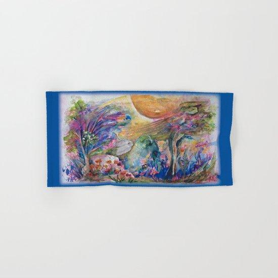 Dance of Nature Hand & Bath Towel
