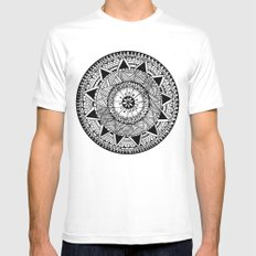 My First Attempt Mens Fitted Tee MEDIUM White
