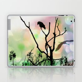 The Lonely Crow At Sunset Laptop & iPad Skin