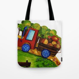 Farmer Jones's Tractor Tote Bag