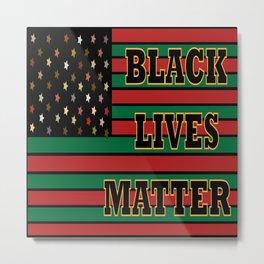 Black Lives Matter 2.0 Metal Print