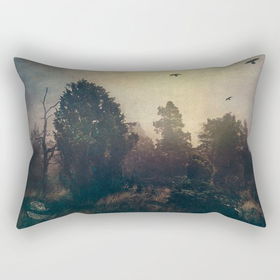 Home is where the fog is Rectangular Pillow