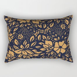 Abstract - kind of damasc french style wrapping paper - Simple Rectangular Pillow