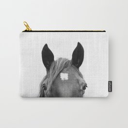 Peeking Horse Carry-All Pouch