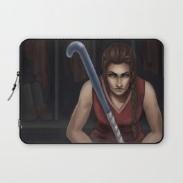The Field Hockey Player Laptop Sleeve