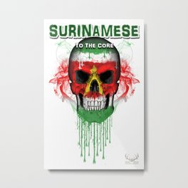 To The Core Collection: Suriname Metal Print
