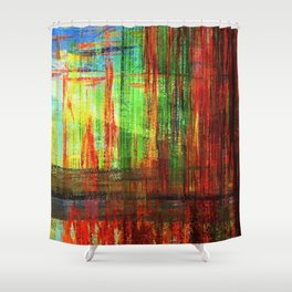 Nine Devils Lake, Fall 2016 Shower Curtain
